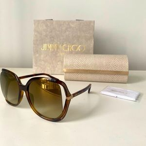 Jimmy Choos sunglasses (style Tilda)